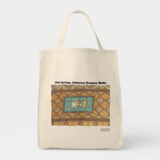 HotSprings, AR Quapaw Dome Tiles II Gifts Apparel Tote Bag