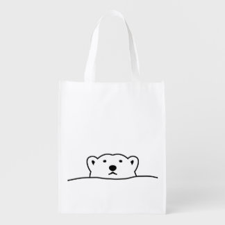 < hotsukiyokuguma which is excluded > Looking Grocery Bag