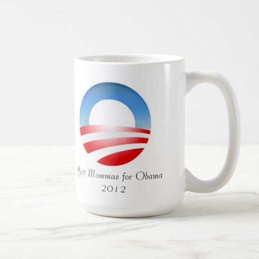 Hott Mommas para la taza de Obama 2012