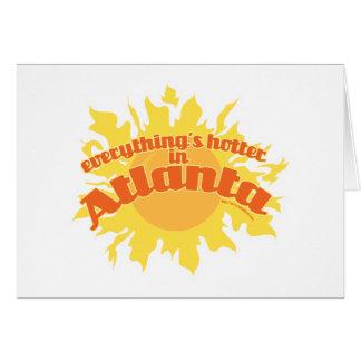 Hotter in Atlanta Card