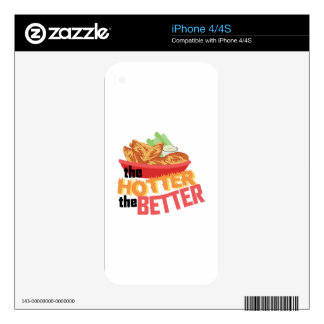 Hotter Is Better iPhone 4 Skins
