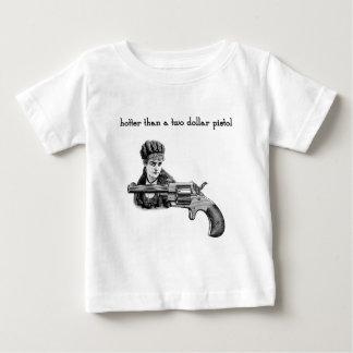 Hotter than a two dollar pistol Steampunk. Baby T-Shirt
