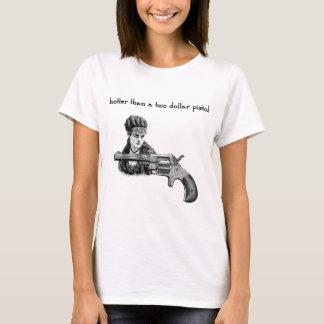 Hotter than a two dollar pistol Steampunk. T-Shirt