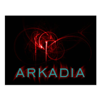 Hotter Than Hell Arkadia Postcard