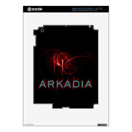 Hotter Than Hell Arkadia Skin For iPad 3