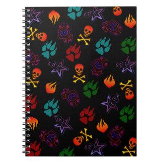 Hotter Than Hell Notebook
