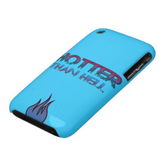 HotterThanHell logo iPhone 3G/3GS Casemate Custom iPhone 3 Case