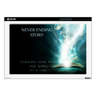 HotterThanHell Neverending Story Laptop Decal