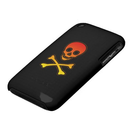 HotterThanHell Skull iPhone 3G/3GS Casemate case iPhone 3 Case-Mate Cases