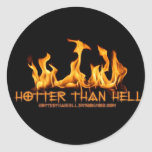 HotterThanHell Stickers