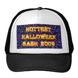 Hottest Halloween Bash 2009 Blue Mesh Hat