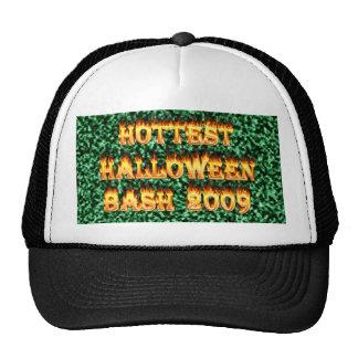 Hottest Halloween Bash 2009 Green Mesh Hats