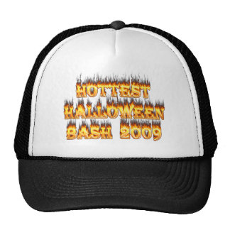 Hottest Halloween Bash 2009 Mesh Hat