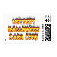 Hottest Halloween Bash 2009 stamp