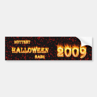 Hottest Halloween Bash 2009 Red Bumper Stickers