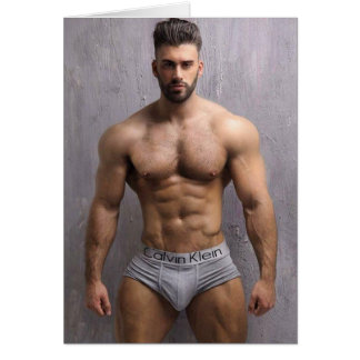 Hottest Hunks on the Planet! Time For Equality! Card