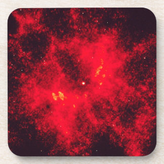 Hottest Known Star NGC 2440 Nucleus Beverage Coaster