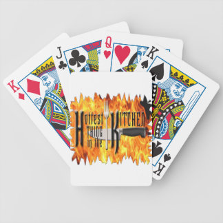 Hottest Thing in The Kitchen Bicycle Playing Cards