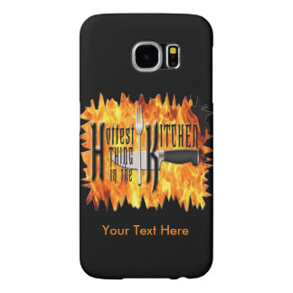 Hottest Thing in The Kitchen | Cooking Chef Samsung Galaxy S6 Cases
