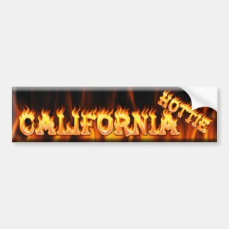 hottie de California Pegatina Para Auto