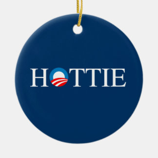 HOTTIE Double-Sided CERAMIC ROUND CHRISTMAS ORNAMENT