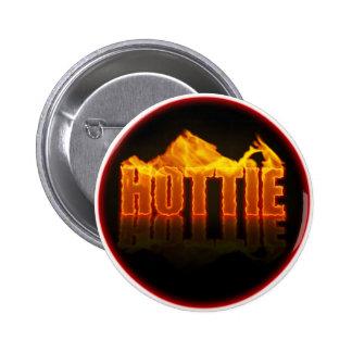 Hottie flamea el botón pin