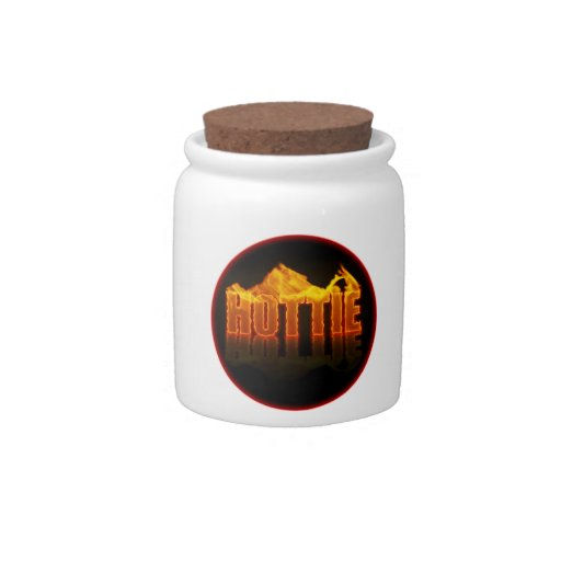 Hottie Flames Candy Jar