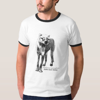 Hottie from History, Thylacinus Cynocephalus T-Shirt
