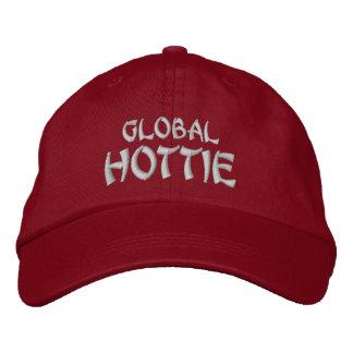 HOTTIE GLOBALES - Rojo Gorra Bordada