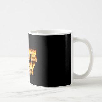 Hottie Mary fire and flames. Coffee Mug