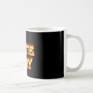 Hottie Mary fire and flames Coffee Mug