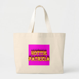 Hottie Patricia fire and flames Bag
