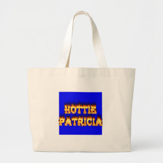 Hottie Patricia fire and flames Bags