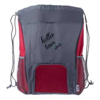 hottie times infinity drawstring backpack
