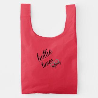 hottie times infinity reusable bag
