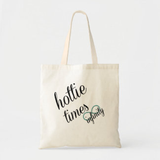 hottie times infinity tote bag