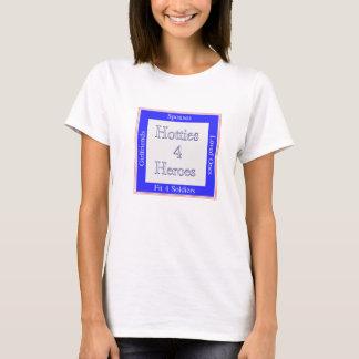 Hotties4Heroes Shirt ~ Med