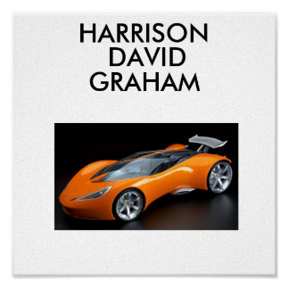 hotwheels, HARRISON, DAVID, GRAHAM Poster