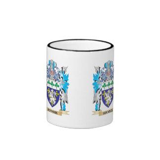 Houchin Coat of Arms - Family Crest Ringer Coffee Mug