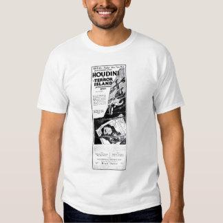 Houdini 1920 vintage movie ad T-shirt