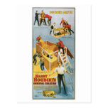 Houdini ~ Buried Alive Vintage  Escape Artist Post Cards