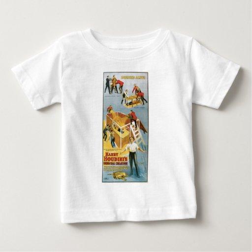 Houdini ~ Buried Alive Vintage  Escape Artist Tshirt
