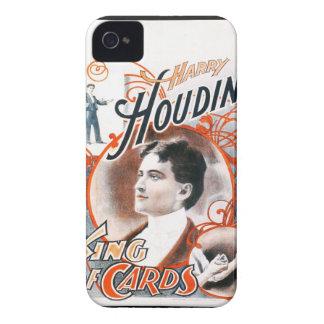 Houdini - caja de la casamata de Blackberry iPhone 4 Funda