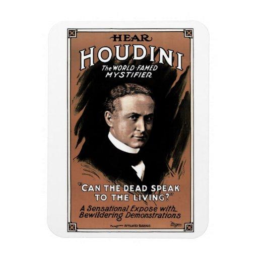 """Houdini - """"Can the Dead Speak"""" Magnet"""