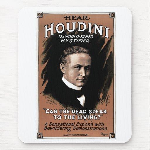 "Houdini - ""Can the Dead Speak""Mousepad"