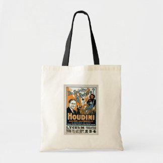"Houdini, ""dice no y lo prueba"" teatro retro bolsas"