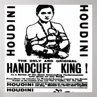 Houdini en el teatro del palacio impresiones