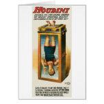 Houdini ~ Illusionist Vintage Magic / Escape Art Greeting Cards