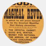 Houdini, 'Magical Revue' Retro Theater Sticker