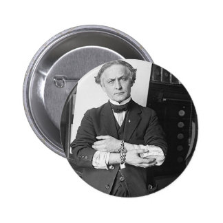 houdini pinback button